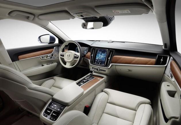 2016 Volvo S90-interior