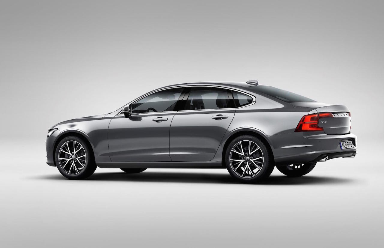 2016 volvo s90 officially revealed performancedrive. Black Bedroom Furniture Sets. Home Design Ideas