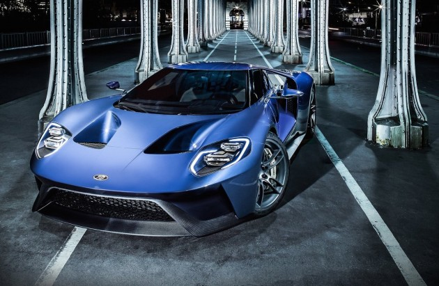 2017 Ford GT-front
