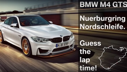 BMW M4 GTS laps Nurburgring in around 7:28? (video)
