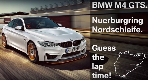 BMW M4 GTS Nurburgring