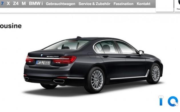 BMW M760Li-online configurator
