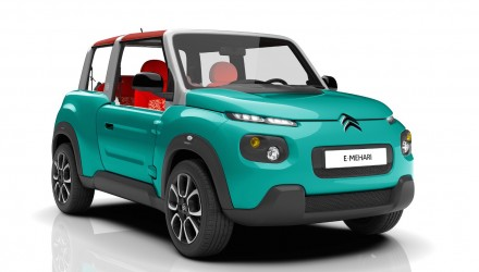 Citroen E-MEHARI revealed, quirky new electric SUV