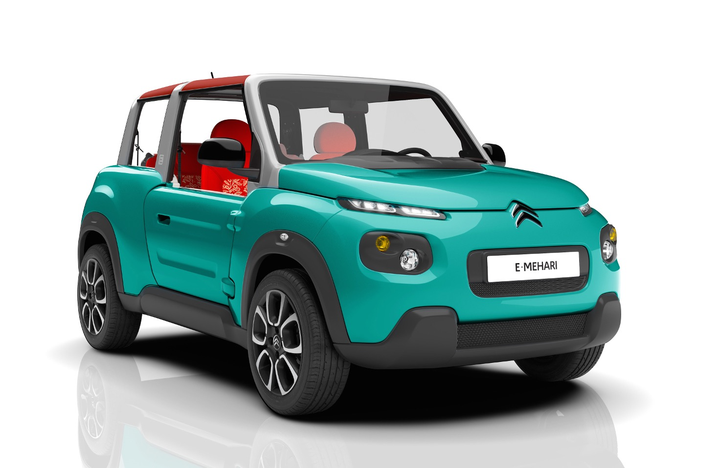citroen e mehari revealed quirky new electric suv performancedrive. Black Bedroom Furniture Sets. Home Design Ideas