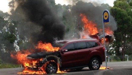 New Ford Everest catches fire, recall pending investigation