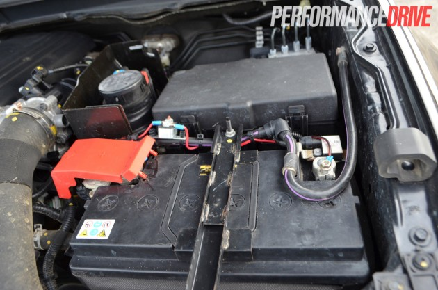 Ford-Ranger Duratorq-battery