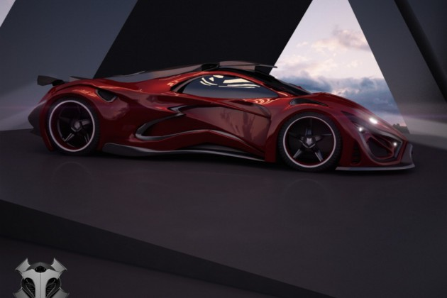 Inferno supercar-side