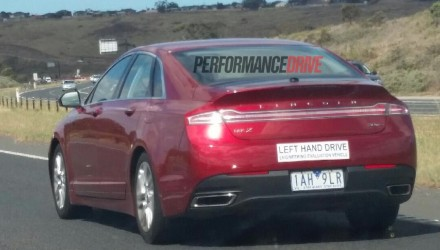 Lincoln MKZ spotted testing in Australia, to be part of future lineup?