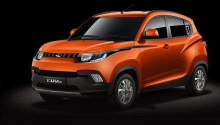 Mahindra KUV100 revealed, new compact SUV for India