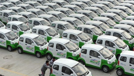 Tianjin in China fights emissions with 1000-EV fleet share program