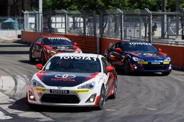 Toyota 86 Racing Series-Sydney 500 2015