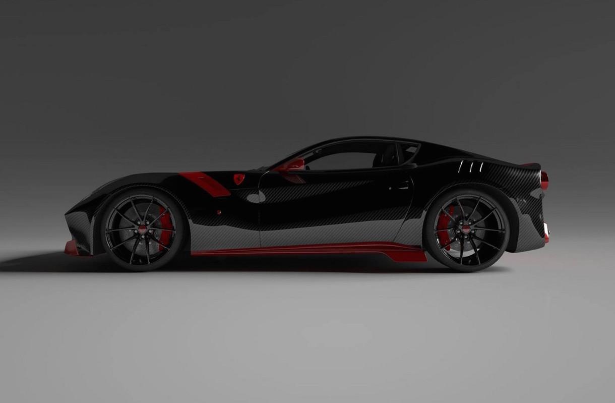 Vitesse Audessus Creates Full Carbon Kit For Ferrari