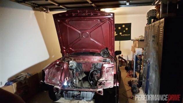 Volvo 240 GL LS1 V8 conversion-2