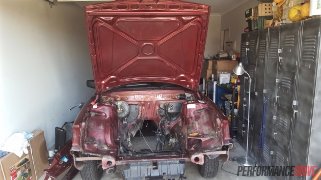 Volvo 240 GL LS1 V8 conversion-3