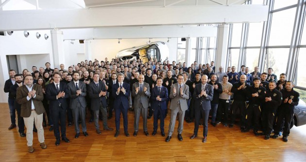 150 new staff and management at Lamborghini-2016