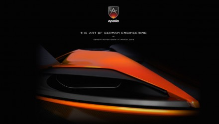 New Apollo supercar previewed again, Gumpert successor
