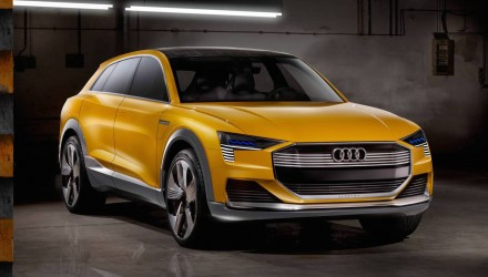 Audi h-tron concept unveiled, previews future hydrogen fuel cell tech