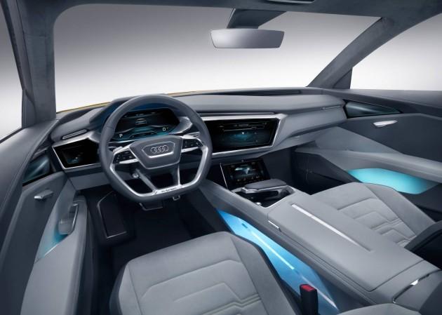 2016 Audi h-tron concept-interior