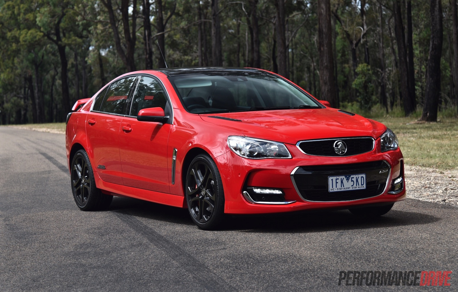 2016 Holden Commodore Ss V Redline Vf Ii Review Video