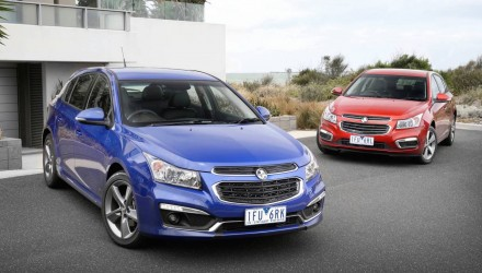 2016 Holden Cruze Z-Series on sale in Australia from $22,640