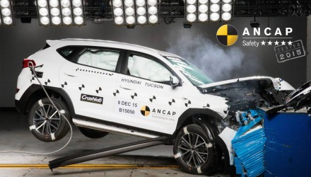 Updated 2016 Hyundai Tucson gets 5-star ANCAP rating
