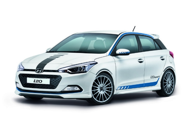 hyundai i20 sport announced in germany gets new 1 0l turbo performancedrive. Black Bedroom Furniture Sets. Home Design Ideas