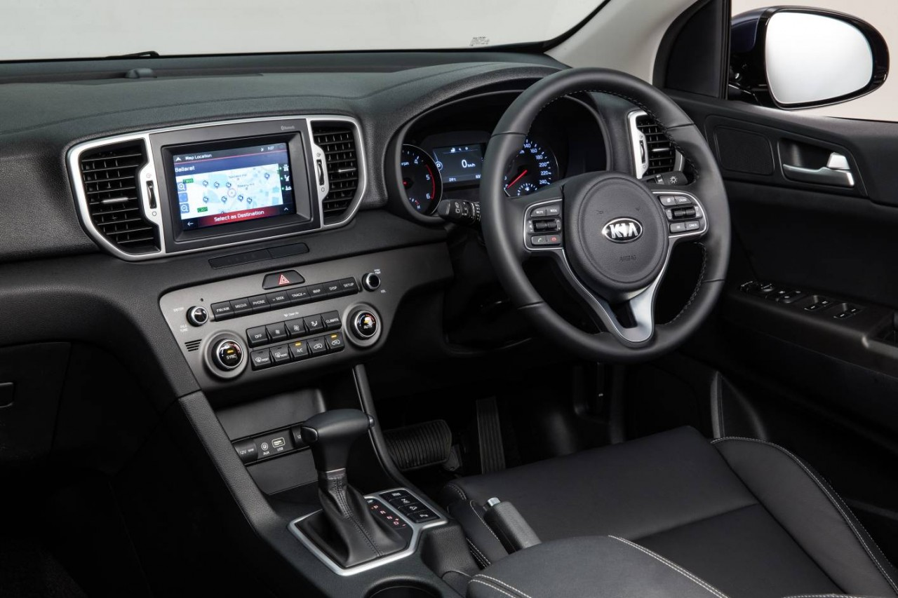kia sportage 2016 interior photos