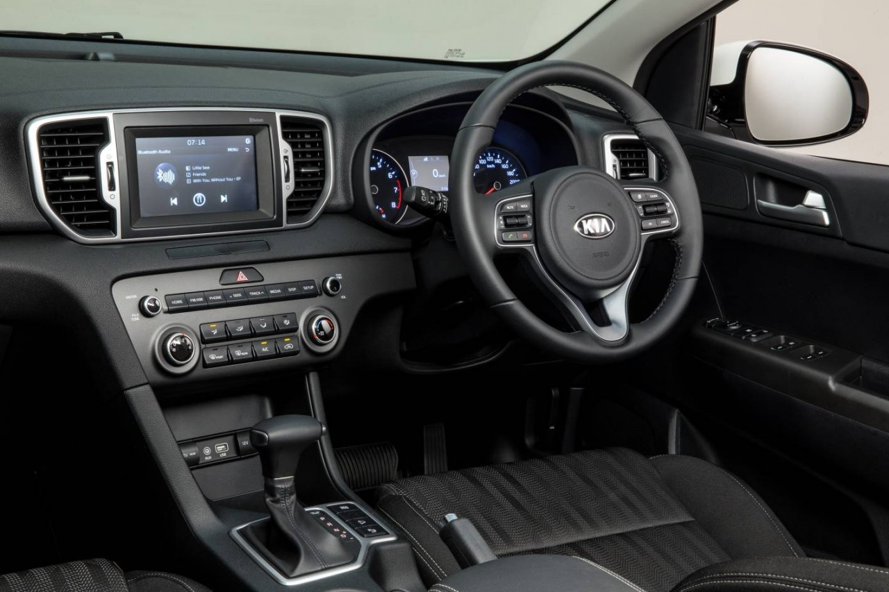 Kia sportage 2016 interior photos for Interior kia sportage 2018