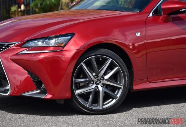 2016 Lexus GS 200t F Sport-19in wheels
