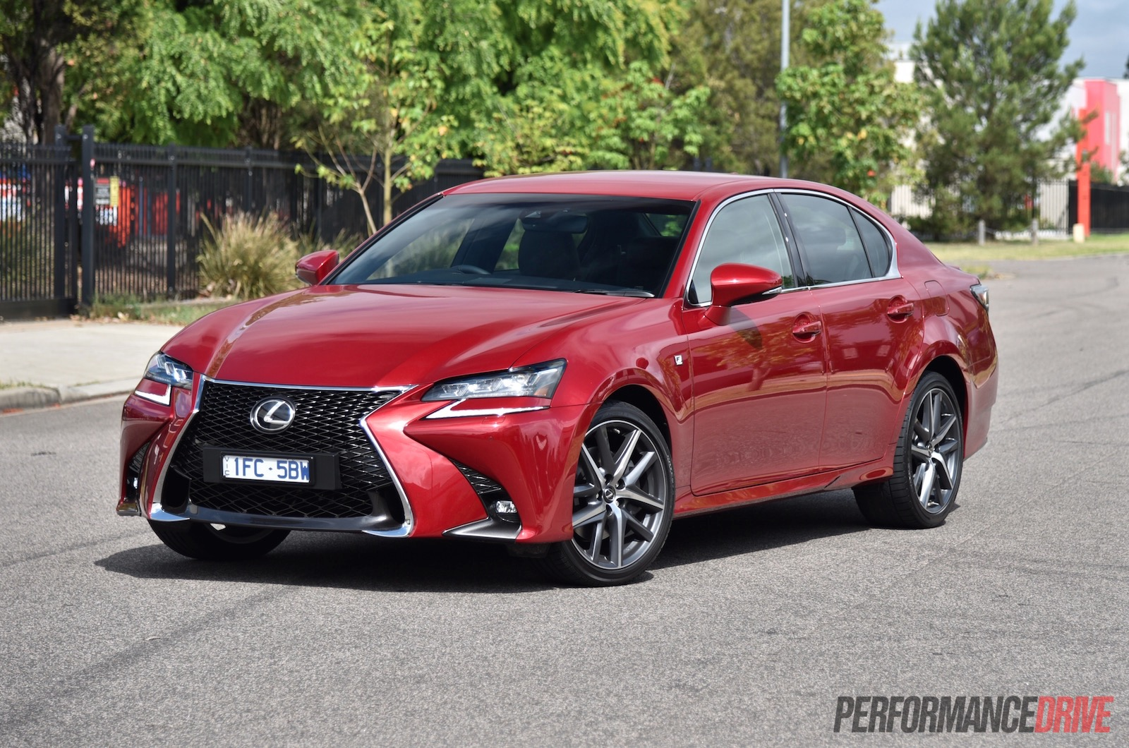 2016 lexus gs 200t f sport review video performancedrive. Black Bedroom Furniture Sets. Home Design Ideas