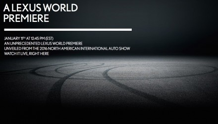 Lexus plans world premiere at Detroit, new 'LC' coupe?