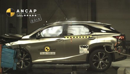 2016 Lexus RX receives 5-star ANCAP safety rating