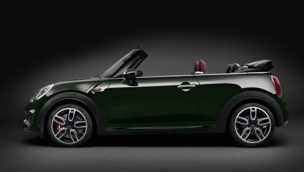 2016 MINI John Cooper Works Convertible revealed