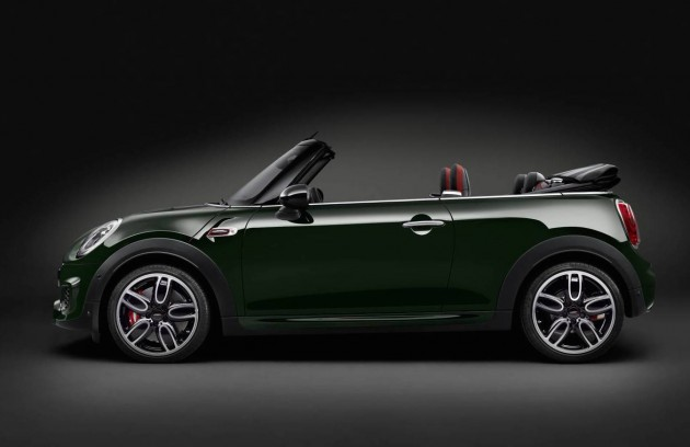 2016 MINI JCW Convertible-side