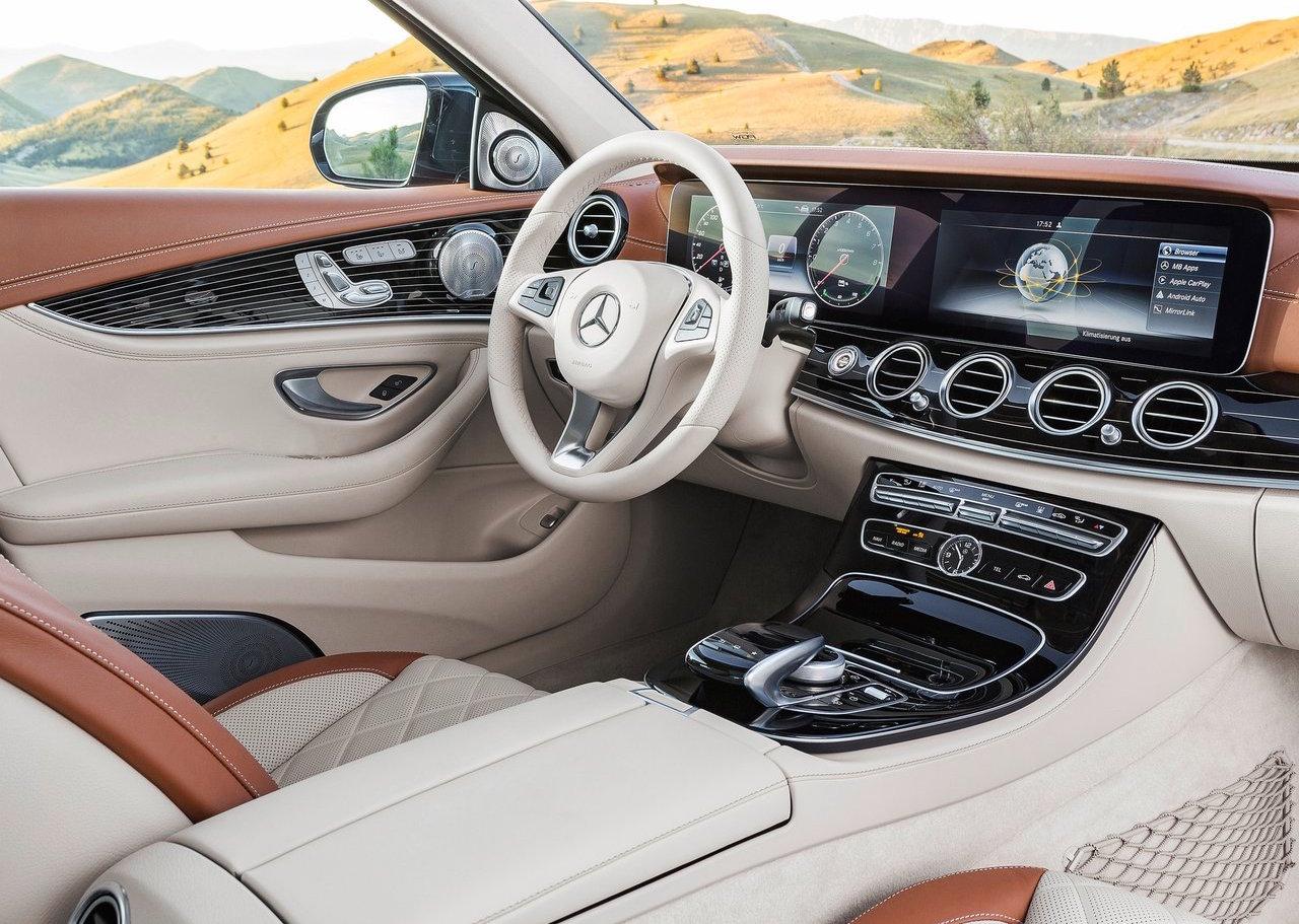 2016 Mercedes Benz E Class Interior