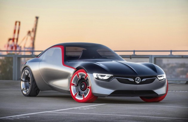 2016 Opel GT Concept-front