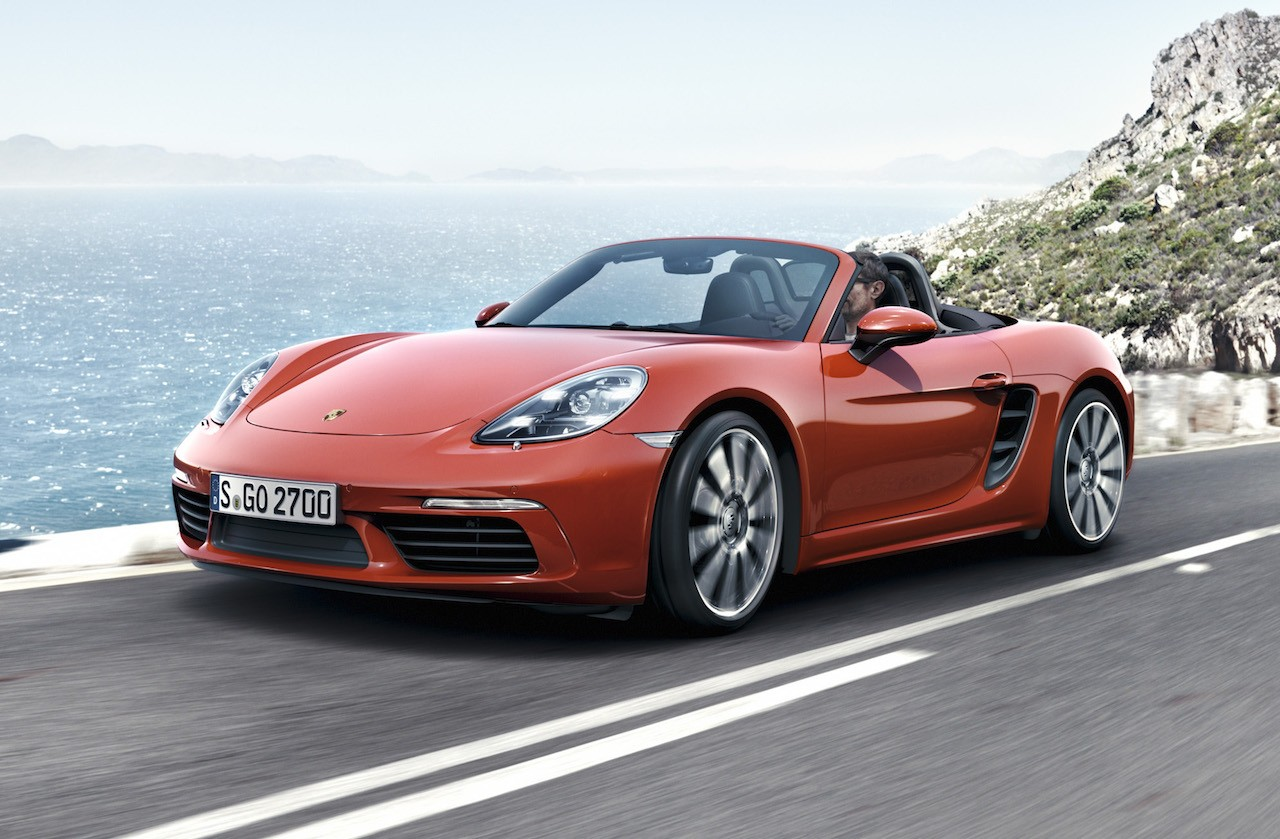 2016 porsche 718 boxster on sale in australia from 113 100 performancedrive. Black Bedroom Furniture Sets. Home Design Ideas