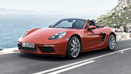 2016 Porsche 718 Boxster on sale in Australia from $113,100