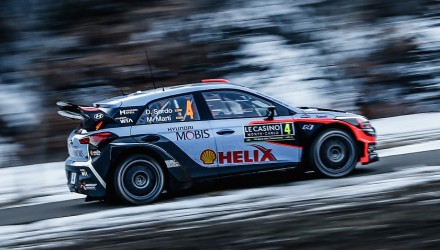 New Hyundai i20 kicks off 2016 WRC with 3rd at Rallye Monte-Carlo