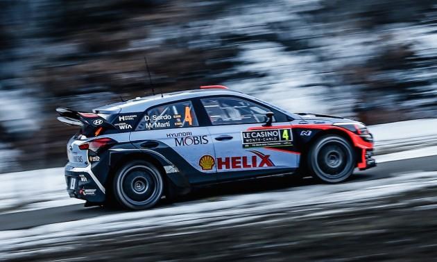 2016 Rallye Monte-Carlo Hyundai i20