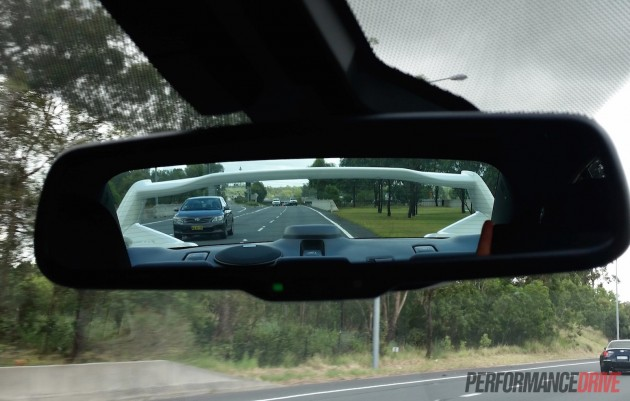 2016 Subaru WRX STI-rear view mirror