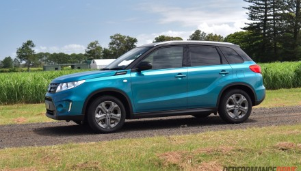 2016 Suzuki Vitara RT-S review (video)