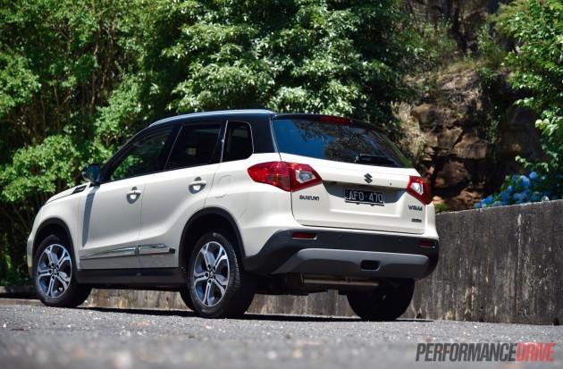 2016 Suzuki Vitara RT-X rear
