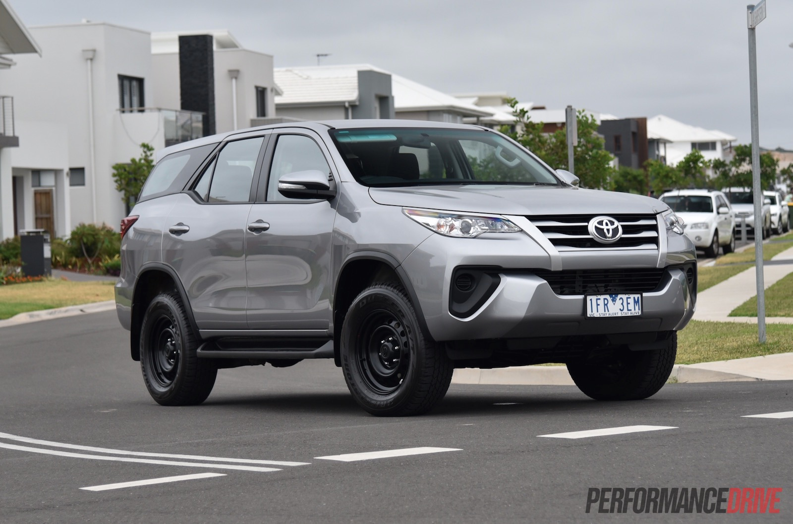 2016 Toyota Fortuner Gx Review Video Performancedrive