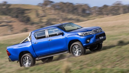 Top 10 best-selling utes in Australia during 2015