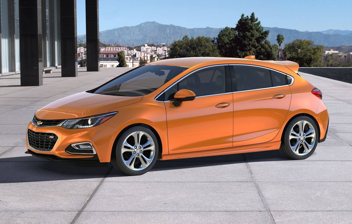 Chevrolet Cruze Hatch Pictures to pin on Pinterest
