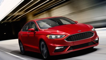 2017 Ford Fusion revealed, twin-turbo Sport variant added