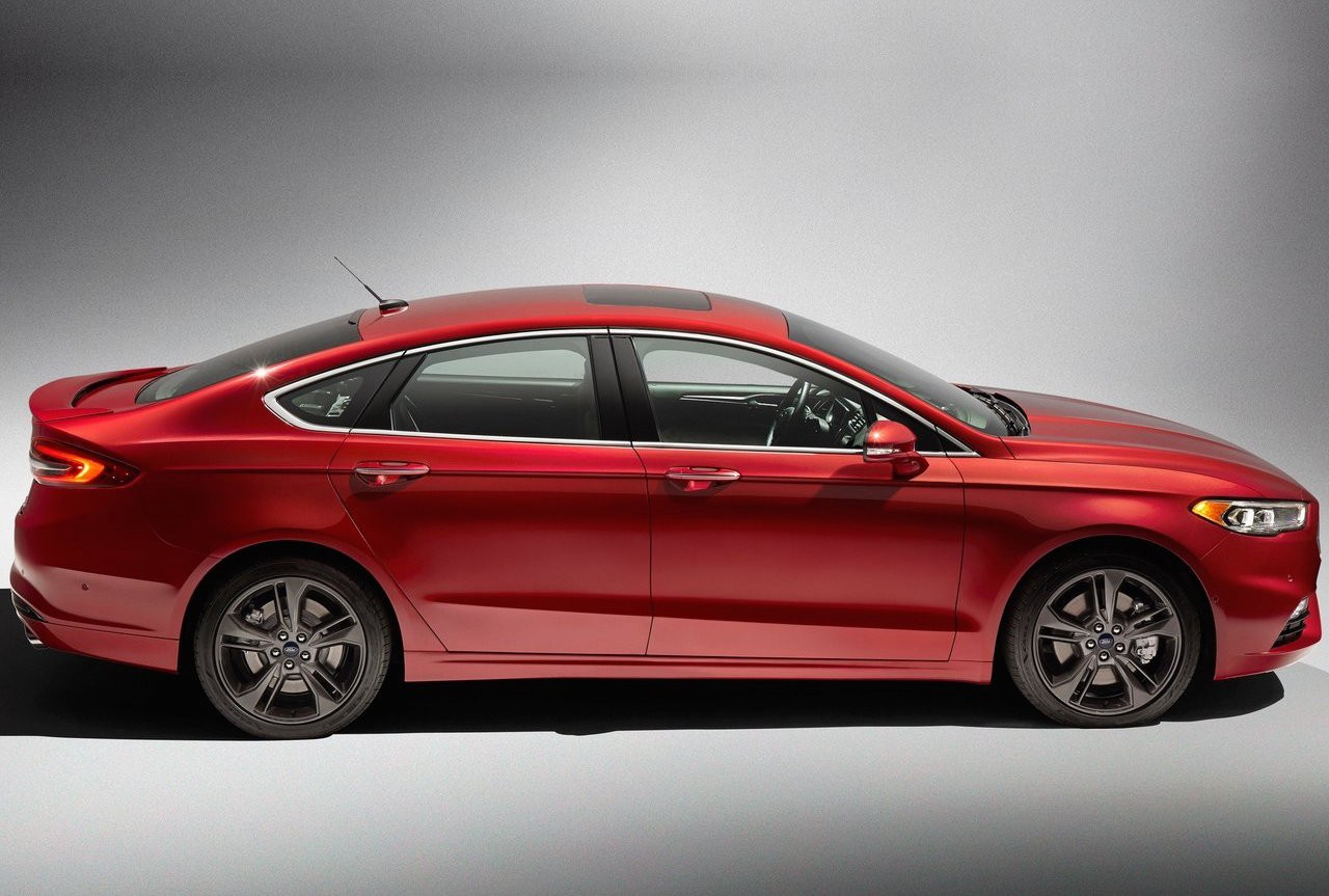 2017 ford fusion revealed twin turbo sport variant added performancedrive. Black Bedroom Furniture Sets. Home Design Ideas