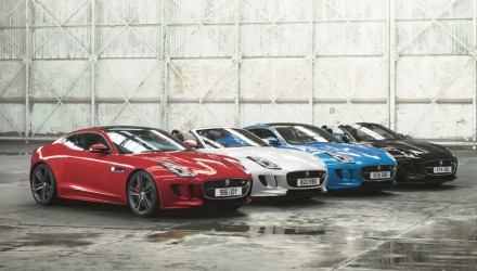 2017 Jaguar F-Type British Design Edition announced for Australia