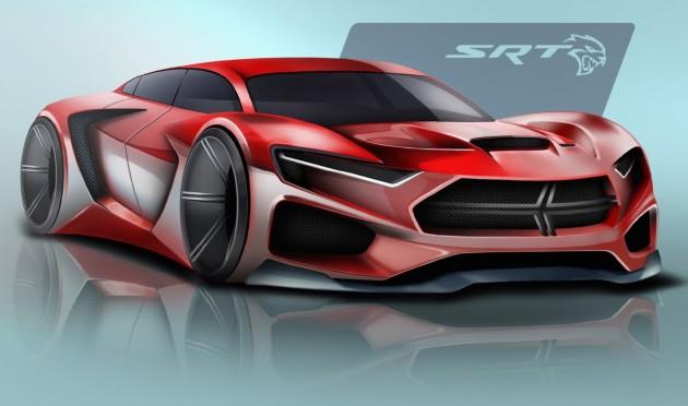 2025 SRT Hellcat design-Ben Treinen